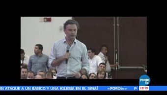Los presidenciables del PRI se reúnen con jóvenes priistas en Mazatlán, Sinaloa