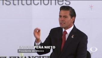 EPN cuestiona que siempre se culpe a la corrupción
