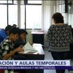 SEP reubica a estudiantes cuyas escuelas no han sido evaluadas tras sismos