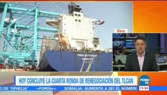 Negociadores mexicanos seguirán trabajando en la modernización del TLCAN