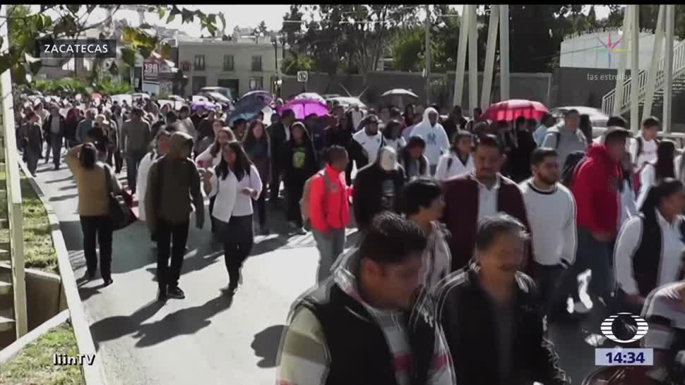 Piden Justicia Preparatoriana Zacatecas Miles De Personas