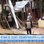 Padres de víctimas del colegio Rébsamen piden apoyo a la CNDH