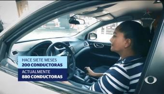 Plataforma de taxis exclusivos para mujeres