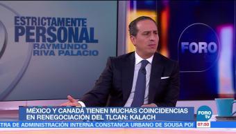 Moisés Kalach: México es un socio proactivo en el TLC