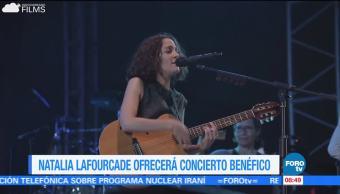 #LoEspectaculardeME: Natalia Lafourcade ofrecerá concierto a beneficio de damnificados
