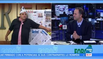 Matutino Express del 18 de octubre con Esteban Arce (Bloque 1)