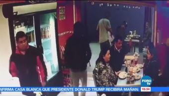 Detienen a asaltantes de taquería en Iztacalco