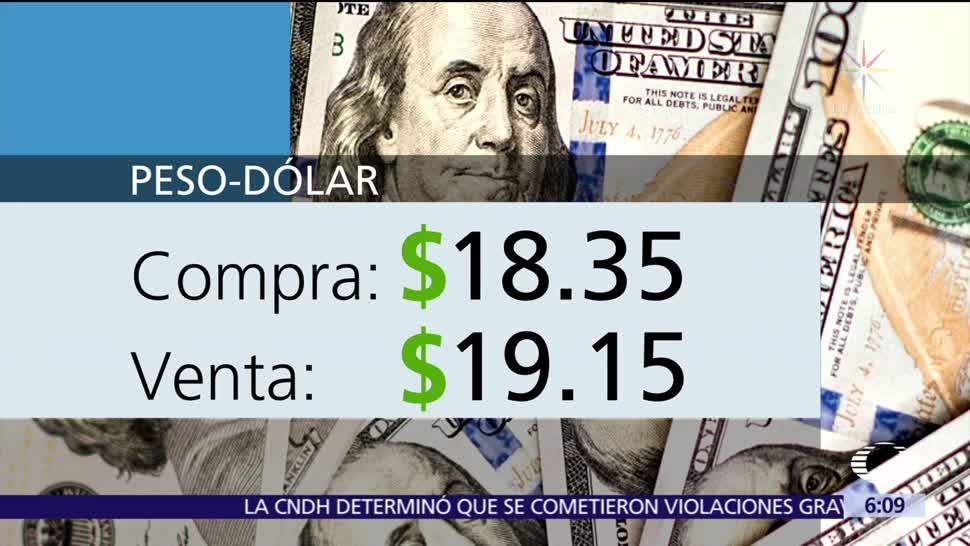 El dólar se vende en $19.15