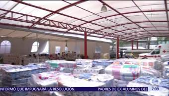 Cruz Roja Mexicana cierra centros de acopio en CDMX y 19 delegaciones