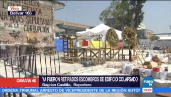 Recuerdan a víctimas del sismo 19S en fábrica textil de Simón Bolívar