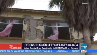 En Oaxaca hay más de 3 mil escuelas afectadas por el sismo