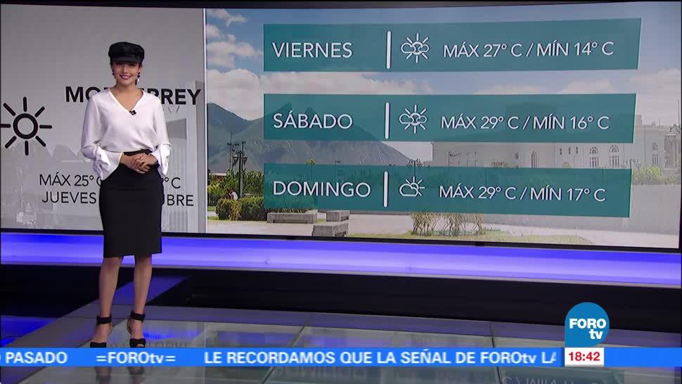 El Clima con Daniela Álvarez del 19 de octubre