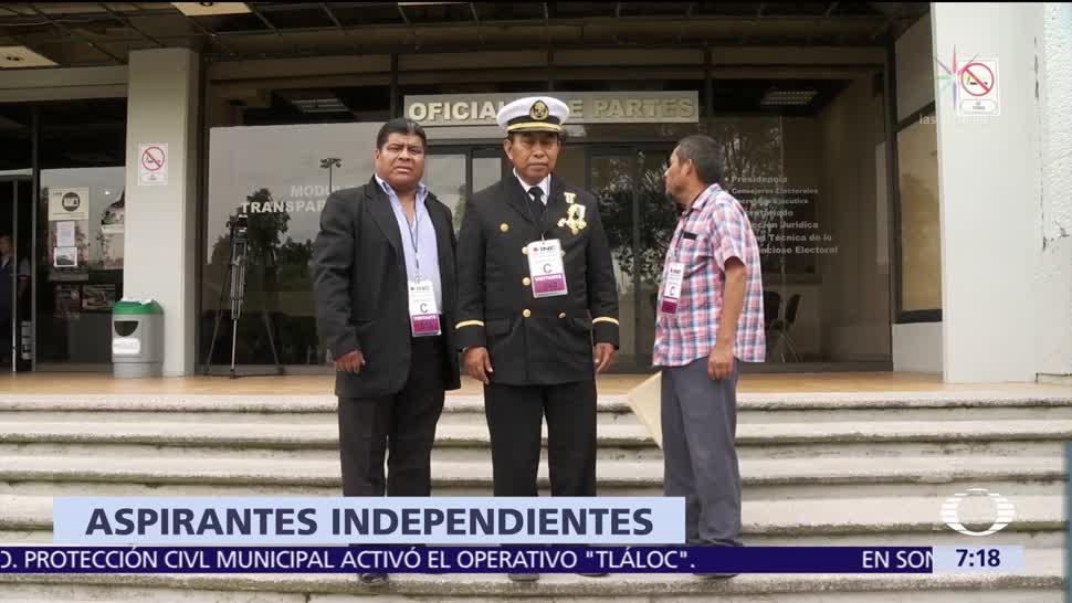 INE confirma que hay 48 aspirantes a una candidatura presidencial independiente