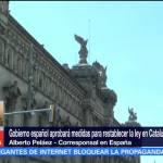 Convocan en Barcelona manifestación a favor de la independencia de Cataluña