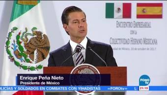México no reconocerá independencia unilateral de Cataluña: EPN