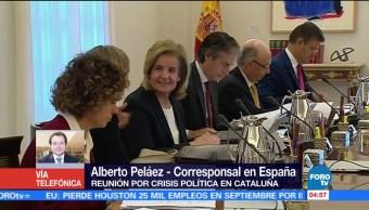 Mariano Rajoy encabeza reunión por crisis política en Cataluña