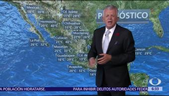 Despierta con Tiempo: Frente frío y ondas tropicales favorecerán lluvias