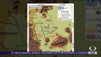 UNAM y Cenapred difunden en internet el mapa de fracturas de CDMX