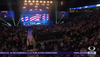 Obama, Bush, Clinton y Carter acuden a concierto por afectados de 'Harvey'