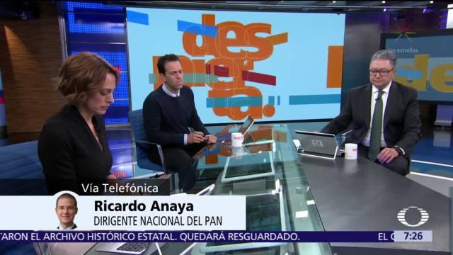 Ricardo Anaya habla en el estudio de Despierta sobre el Frente Ciudadano