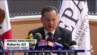 Roberto Gil Zuarth se pronuncia sobre la restitución del titular de Fepade