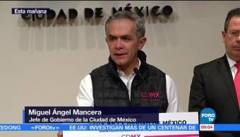 Mancera: Será restablecido suministro de agua en Iztacalco