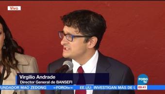 Virgilio Andrade habla sobre la entrega de apoyos a través de tarjetas