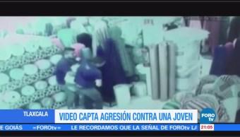 Captan agresiones a Jazmín Contreras en Tlaxcala