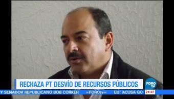 PT rechaza desvío de recursos públicos