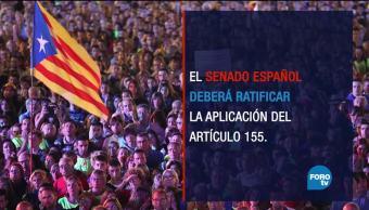 ¿Qué sigue para Cataluña, tras la aplicación de artículo 155?