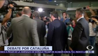 Senado de España ofrece a Puigdemont debatir con el Gobierno central