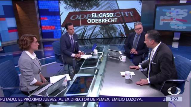 Santiago Nieto habla en Despierta con Loret sobre la Fepade y Odebrecht