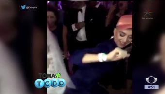 Katy Perry invade la boda de unos desconocidos