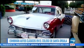 Extra, Extra: Exhibirán autos clásicos en el coloso de Santa Úrsula
