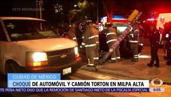 Accidentes vehiculares en la CDMX dejan un muerto