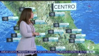 Continuará el ambiente frío en norte, noreste, oriente y centro del país