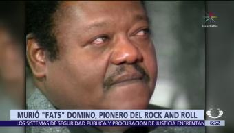 Muere Antoine 'Fats' Domino, pionero del rock and roll