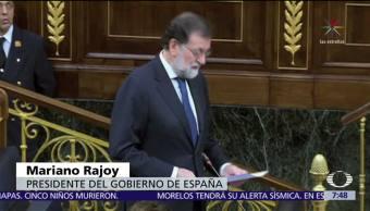 Mariano Rajoy se mantiene en la aplicación del Artículo 155 en Cataluña