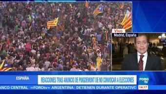 Causa expectativa la decisión que tomará el Generalitat sobre independencia de Cataluña