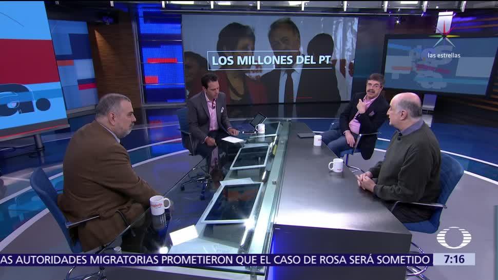 PGR, Fepade, PRI y PT, análisis en Despierta con Loret