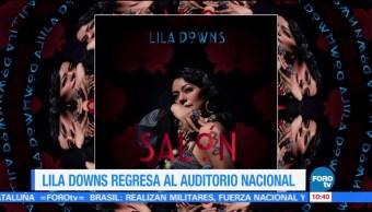Lila Downs regresará al Auditorio Nacional