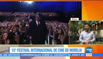 Guillermo del Toro, padrino del Festival de Cine de Morelia