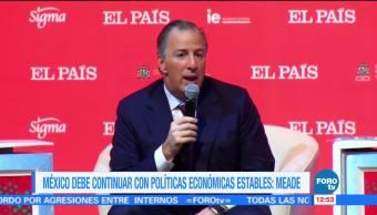 José Antonio Meade habla sobre la Ley de Ingresos 2018