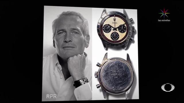 Subasta millonaria por Rolex de Paul Newman