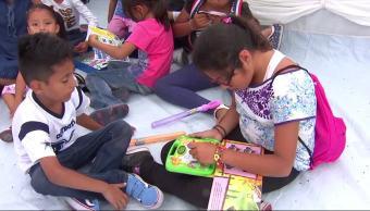 Albergues de Oaxaca instalan actividades escolares para menores