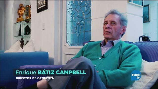 Un director nace y luego se hace: Enrique Bátiz