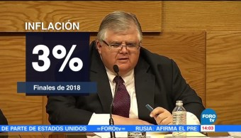 Inflación ya tocó techo: Agustín Carstens