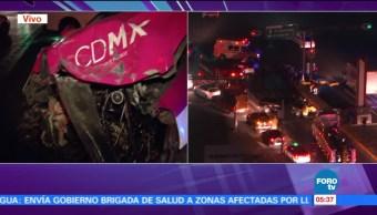 Se registra accidente en Chapultepec y Cuauhtémoc