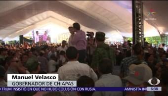 Apoyo a pescadores damnificados en Chiapas se entregará a sus esposas