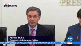 Nuño destaca avance en la cobertura educativa en México